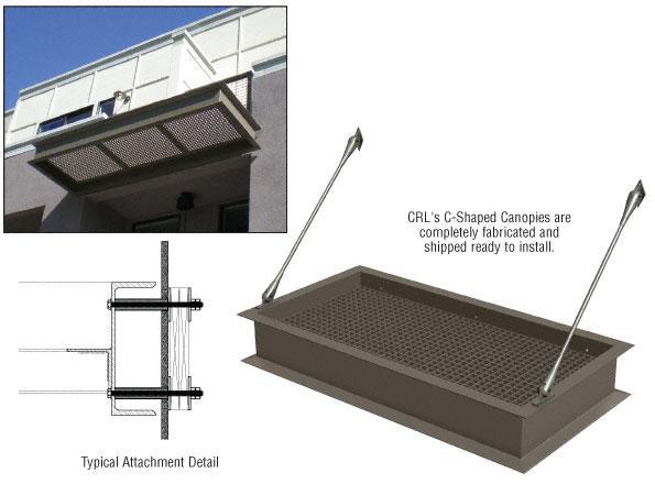 CRL Custom C-Shape Canopy - CANCS1C