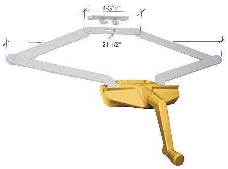 "CRL Gold 21-1/2"" Roto Gear Awning Window Operator - EP23073"