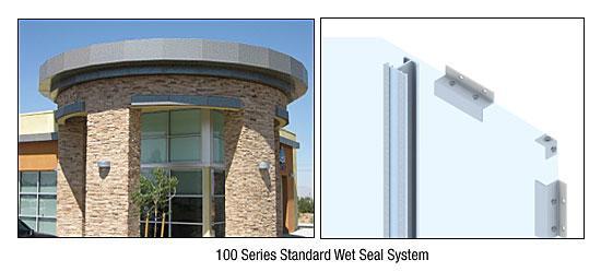 CRL Custom Mica Platinum Standard Series Wall Panel System - EWS100CMP