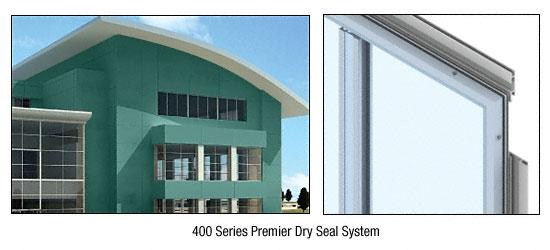 CRL Custom Color Kynar® Painted Premier Series Wall Panel System - PDS400CKN