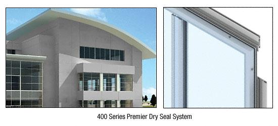 CRL Custom Non-Directional Stainless Premier Series Wall Panel System - PDS400CNDS