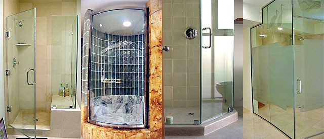 Custom Frameless Glass Shower Doors